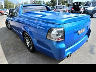 2011 Holden Commodore VE II SV6 Thunder Blue 6 Speed Manual Utility.