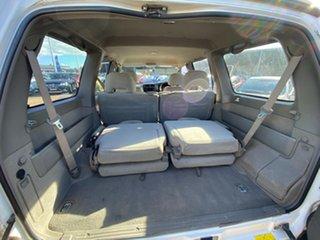 2001 Nissan Patrol GU III ST White 4 Speed Automatic SUV