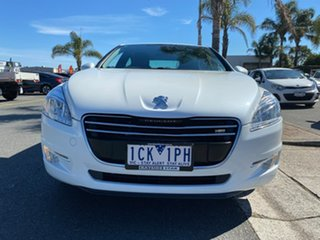 2011 Peugeot 508 (No Series) Active White Sports Automatic Single Clutch Sedan