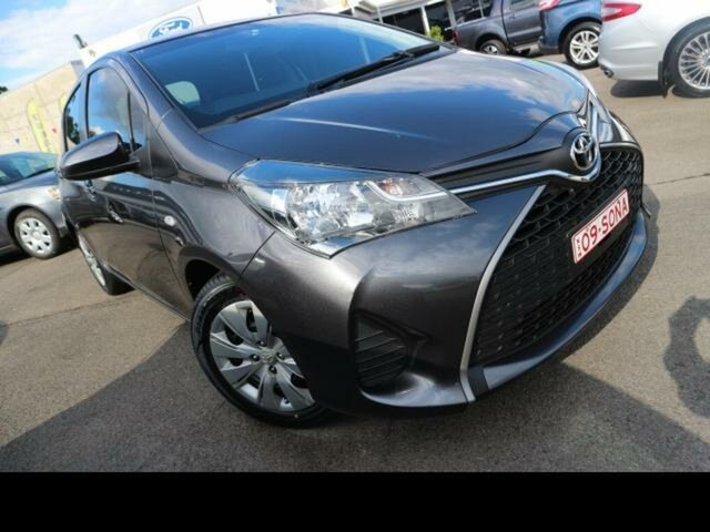 Used Toyota Yaris NCP130R MY15 Ascent Kingswood, 2014 Toyota Yaris NCP130R MY15 Ascent Silver 4 Speed Automatic Hatchback