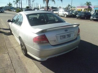 2005 Ford Falcon BA Mk II XR6 Silver 4 Speed Sports Automatic Sedan