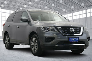2018 Nissan Pathfinder R52 Series II MY17 ST X-tronic 2WD Grey 1 Speed Constant Variable Wagon.