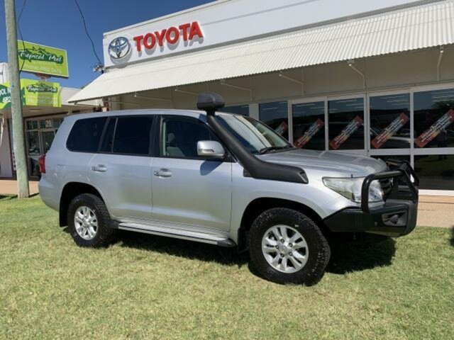 Pre-Owned Toyota Landcruiser VDJ200R MY12 GXL (4x4) Emerald, 2013 Toyota Landcruiser VDJ200R MY12 GXL (4x4) Silver Pearl 6 Speed Automatic Wagon