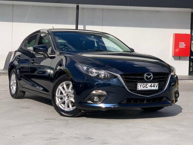 Used Mazda 3 BM5478 Maxx SKYACTIV-Drive Liverpool, 2016 Mazda 3 BM5478 Maxx SKYACTIV-Drive Blue 6 Speed Sports Automatic Hatchback