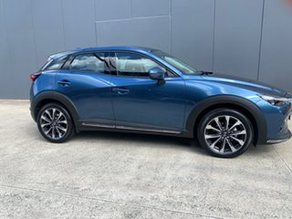 2020 Mazda CX-3 DK2W7A sTouring SKYACTIV-Drive FWD Eternal Blue 6 Speed Sports Automatic Wagon.