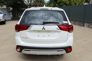 2021 Mitsubishi Outlander ZL MY21 ES AWD White 6 Speed Constant Variable Wagon.