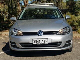 2013 Volkswagen Golf VII MY14 90TSI DSG Comfortline Silver 7 Speed Sports Automatic Dual Clutch.