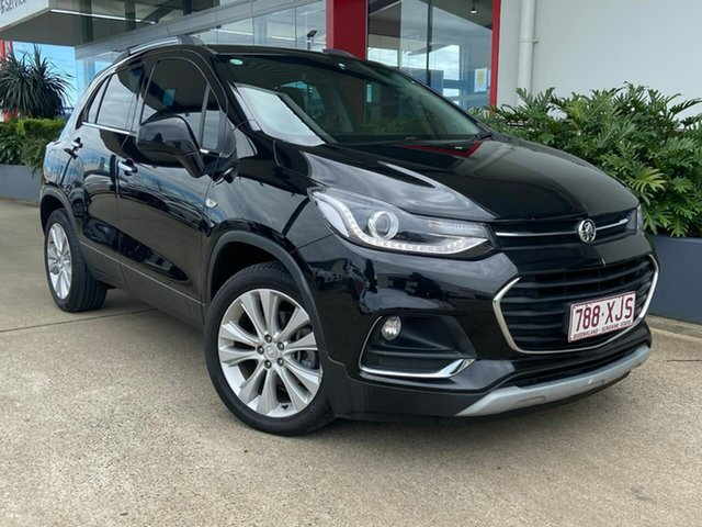 Used Holden Trax TJ MY18 LT Beaudesert, 2017 Holden Trax TJ MY18 LT Black 6 Speed Automatic Wagon