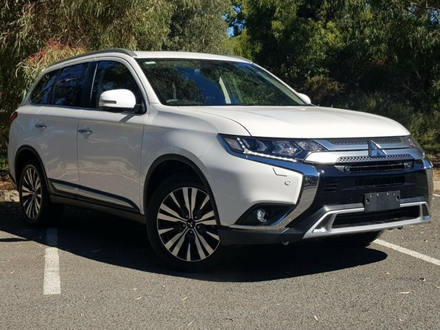 Used Mitsubishi Outlander ZL MY20 Exceed AWD Morphett Vale, 2019 Mitsubishi Outlander ZL MY20 Exceed AWD Starlight 6 Speed Sports Automatic Wagon