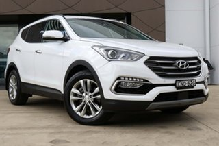 2017 Hyundai Santa Fe DM5 MY18 Elite White 6 Speed Sports Automatic Wagon