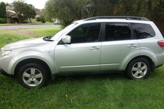 2008 Subaru Forester S3 MY09 XS AWD Silver 4 Speed Sports Automatic Wagon.