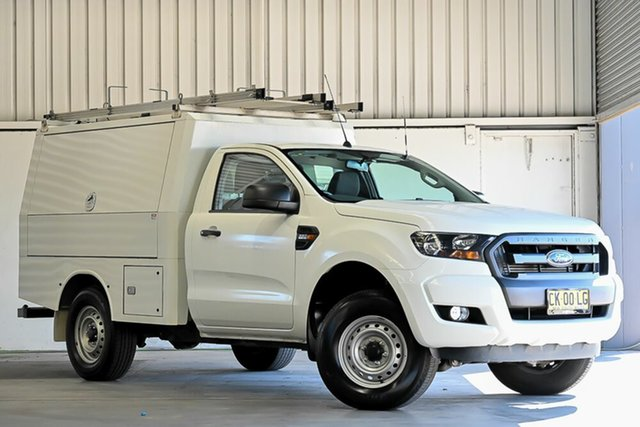 Used Ford Ranger PX MkII XL Hi-Rider Laverton North, 2016 Ford Ranger PX MkII XL Hi-Rider White 6 Speed Sports Automatic Cab Chassis