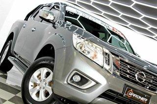 2016 Nissan Navara D23 Series II ST (4x4) Grey 7 Speed Automatic Dual Cab Utility.