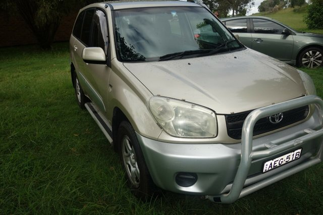 Used Toyota RAV4 ACA23R CV East Maitland, 2004 Toyota RAV4 ACA23R CV Gold 5 Speed Manual Wagon