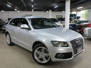 2011 Audi Q5 8R MY11 TFSI S Tronic Quattro Silver 7 Speed Sports Automatic Dual Clutch Wagon.