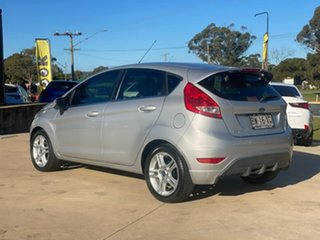 2012 Ford Fiesta WT Zetec Highlight Silver 6 Speed Sports Automatic Dual Clutch Hatchback