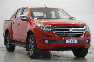 2018 Holden Colorado RG MY19 LTZ Pickup Crew Cab Red 6 Speed Sports Automatic Utility