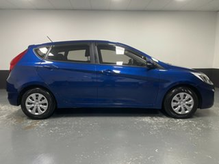 2016 Hyundai Accent RB4 MY17 Active Blue 6 Speed Manual Hatchback
