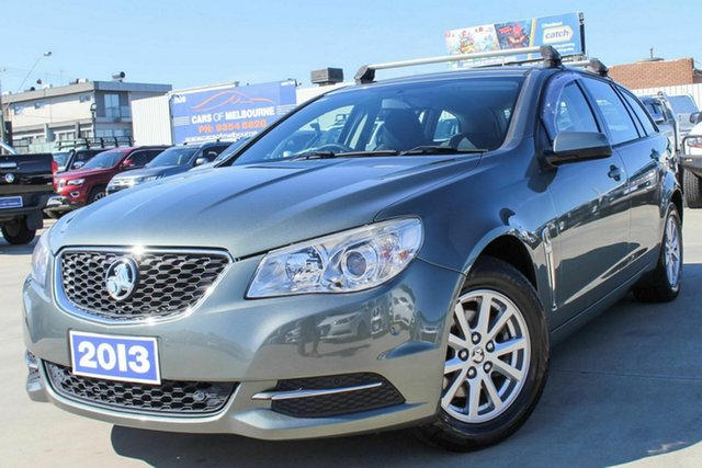 Used Holden Commodore VF MY14 Evoke Sportwagon Coburg North, 2013 Holden Commodore VF MY14 Evoke Sportwagon Grey 6 Speed Sports Automatic Wagon