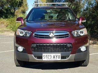 2013 Holden Captiva CG MY13 7 AWD LX Maroon 6 Speed Sports Automatic Wagon.