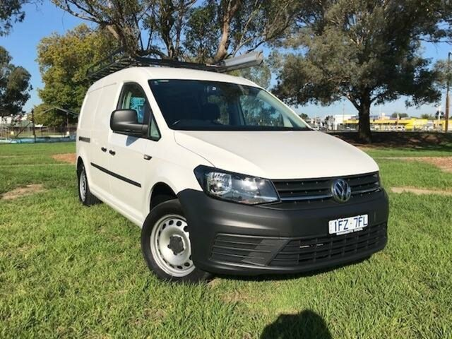 Used Volkswagen Caddy 2K MY16 Maxi TSI220 Wangaratta, 2016 Volkswagen Caddy 2K MY16 Maxi TSI220 7 Speed Auto Direct Shift Van