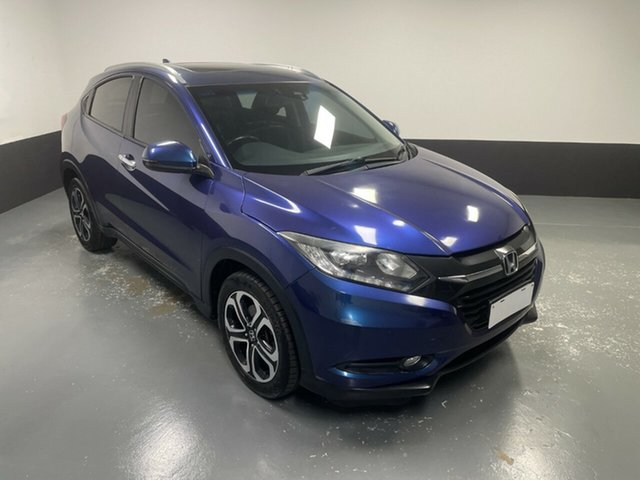 Used Honda HR-V MY15 VTi-L Cardiff, 2015 Honda HR-V MY15 VTi-L Blue 1 Speed Constant Variable Hatchback