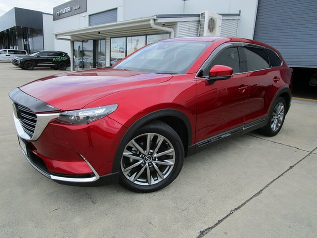 Used Mazda CX-9 TC GT SKYACTIV-Drive Caboolture, 2018 Mazda CX-9 TC GT SKYACTIV-Drive Red 6 Speed Sports Automatic Wagon