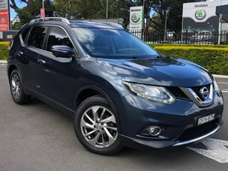 2016 Nissan X-Trail T32 Ti X-tronic 4WD Blue 7 Speed Constant Variable Wagon.