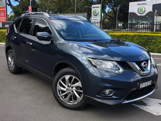 Used Nissan X-Trail T32 Ti X-tronic 4WD Botany, 2016 Nissan X-Trail T32 Ti X-tronic 4WD Blue 7 Speed Constant Variable Wagon