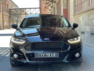 2015 Ford Mondeo MD Titanium Black 6 Speed Sports Automatic Hatchback.