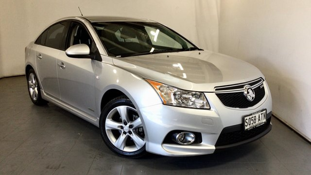 Used Holden Cruze JH Series II MY12 SRi-V Elizabeth, 2012 Holden Cruze JH Series II MY12 SRi-V Silver 6 Speed Sports Automatic Sedan