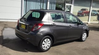 2011 Toyota Yaris NCP130R YR Grey 4 Speed Automatic Hatchback.