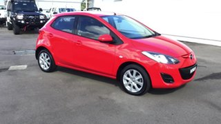 2013 Mazda 2 DE10Y2 MY14 Neo Sport Red 4 Speed Automatic Hatchback