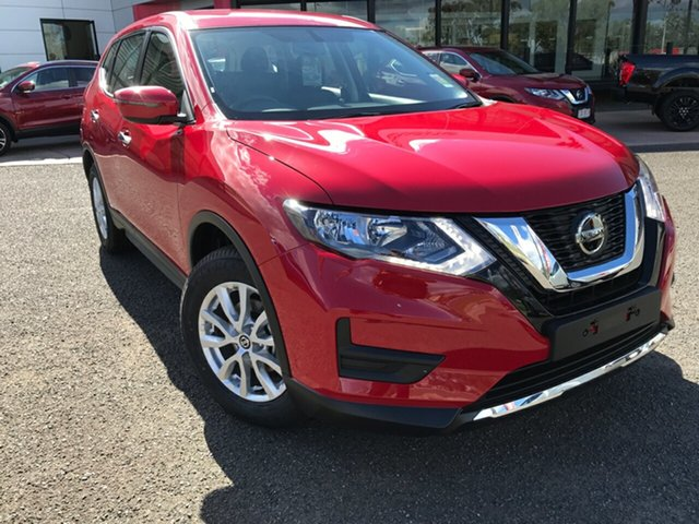 New Nissan X-Trail T32 MY21 ST X-tronic 2WD South Gladstone, 2021 Nissan X-Trail T32 MY21 ST X-tronic 2WD Red 7 Speed Constant Variable Wagon