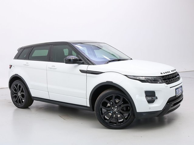 Used Land Rover Range Rover Evoque LV MY15 SD4 Dynamic, 2015 Land Rover Range Rover Evoque LV MY15 SD4 Dynamic White 9 Speed Automatic Wagon