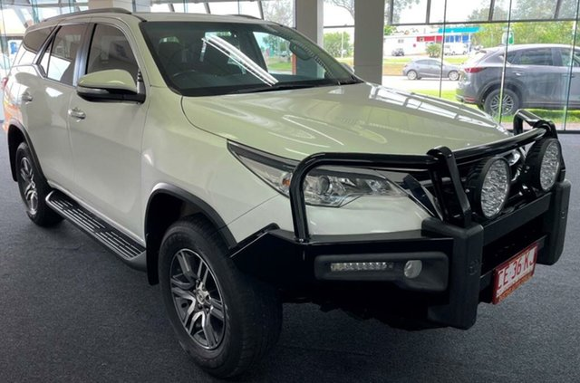 Used Toyota Fortuner GUN156R GXL Winnellie, 2017 Toyota Fortuner GUN156R GXL White 6 Speed Automatic Wagon