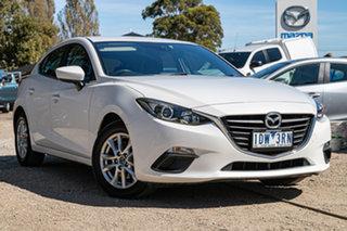 2014 Mazda 3 BM5478 Maxx SKYACTIV-Drive Snowflake White Pearl 6 Speed Sports Automatic Hatchback.