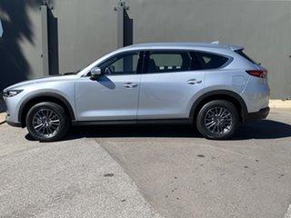 2020 Mazda CX-8 KG2WLA Sport SKYACTIV-Drive FWD Sonic Silver 6 Speed Sports Automatic Wagon.