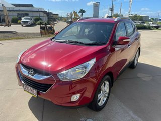2011 Hyundai ix35 LM MY12 Elite AWD Red/301118 6 Speed Sports Automatic Wagon