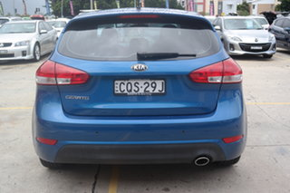 2013 Kia Cerato YD MY14 S Blue 6 Speed Manual Hatchback