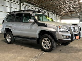 2006 Toyota Landcruiser Prado KZJ120R GXL Silver 5 Speed Manual Wagon.