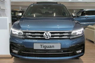 2020 Volkswagen Tiguan 5N MY21 162TSI Highline DSG 4MOTION Allspace Blue 7 Speed.