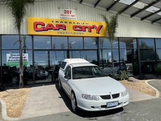 2002 Holden Commodore VX RX (4x4) White 4 Speed Automatic Utility.