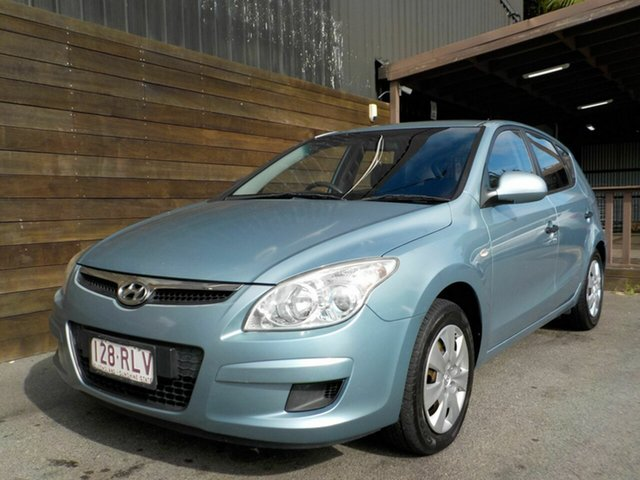 Used Hyundai i30 FD MY09 SX Labrador, 2009 Hyundai i30 FD MY09 SX Blue 5 Speed Manual Hatchback