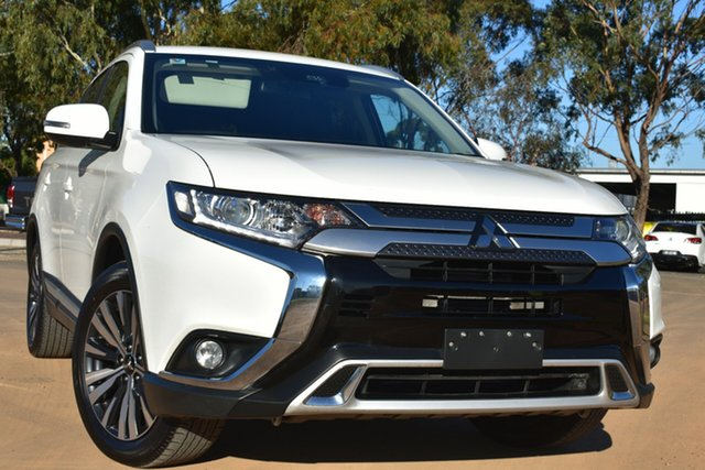 Used Mitsubishi Outlander ZL MY19 ES 2WD St Marys, 2018 Mitsubishi Outlander ZL MY19 ES 2WD White 6 Speed Constant Variable Wagon