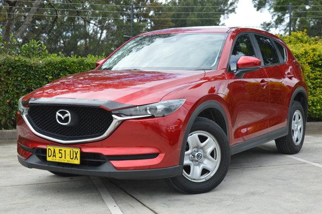Used Mazda CX-5 KF2W7A Maxx SKYACTIV-Drive FWD Maitland, 2017 Mazda CX-5 KF2W7A Maxx SKYACTIV-Drive FWD Red 6 Speed Sports Automatic Wagon