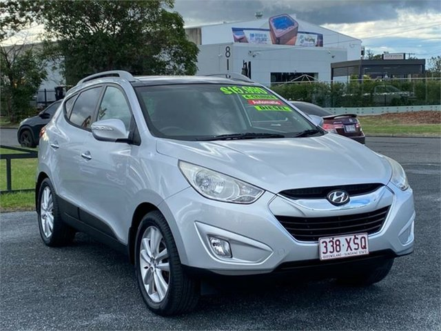 Used Hyundai ix35 LM Highlander Archerfield, 2012 Hyundai ix35 LM Highlander Silver 6 Speed Sports Automatic Wagon