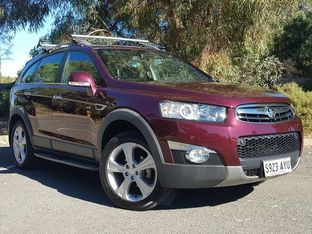 Used Holden Captiva CG MY13 7 AWD LX Morphett Vale, 2013 Holden Captiva CG MY13 7 AWD LX Maroon 6 Speed Sports Automatic Wagon