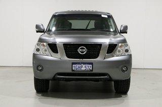 2017 Nissan Patrol Y62 Series 3 TI (4x4) Grey 7 Speed Automatic Wagon.