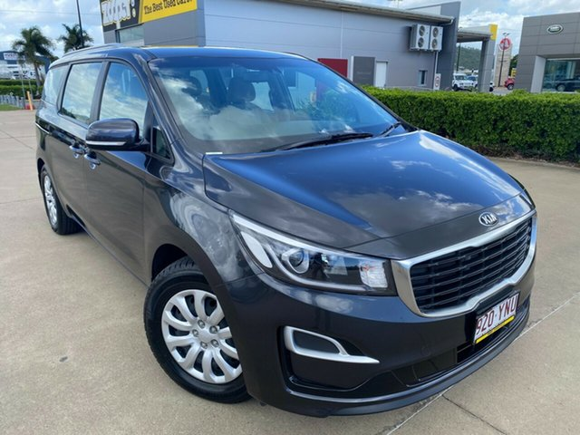 Used Kia Carnival YP MY18 S Townsville, 2018 Kia Carnival YP MY18 S Grey/010119 6 Speed Sports Automatic Wagon